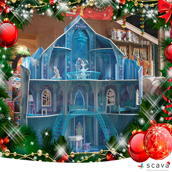 KidKraft Snowflake Mansion
