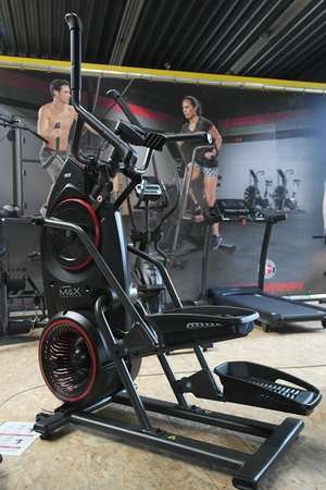 Bowflex Max Trainer M5 in de Scava showroom
