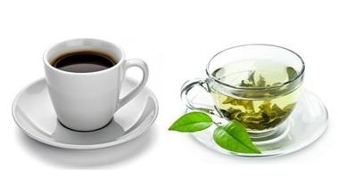 Koffie en groene thee, daar verlies je vet mee