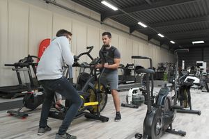 Vernieuwing Scava Fitness Showroom