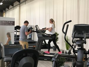 Opnames Scava Infomercial Fitness Showroom