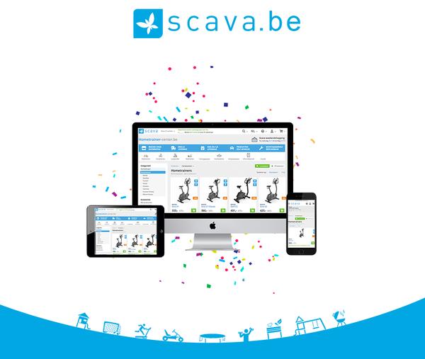 Scava nieuwe website