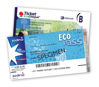 Edenred Ticket EcoCheque & Sodexo Eco Pass